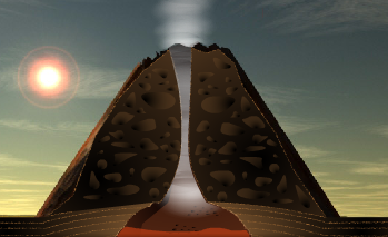 Volcano Animation | Kids and Technology